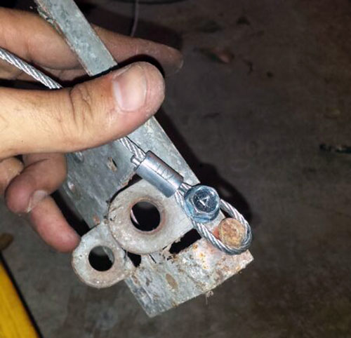 Image Result For Garage Door Cable Snapped